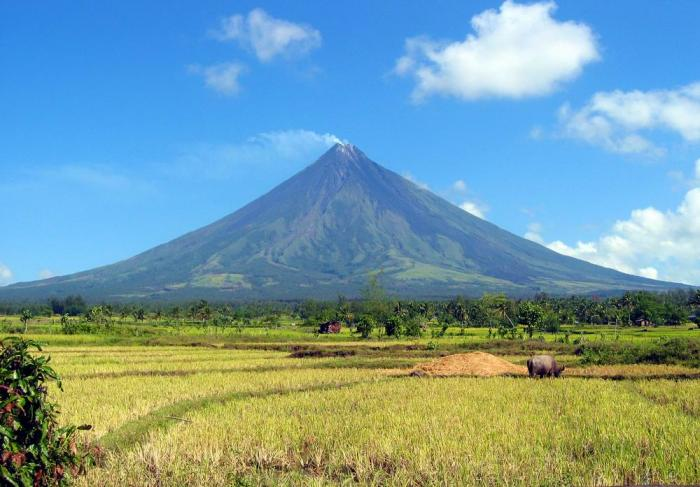 Mayon Volcano