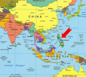 Discover the philippines travel to the philippines worldmap showing asia philippines gumiabroncs Image collections