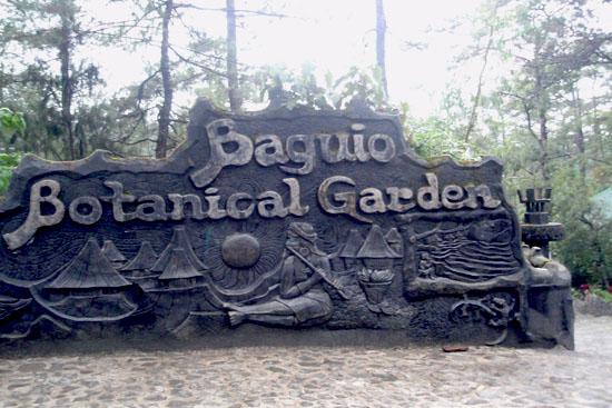 Botanical Garden Baguio Cave Garden Ftempo