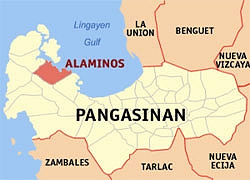 Pangasinan map