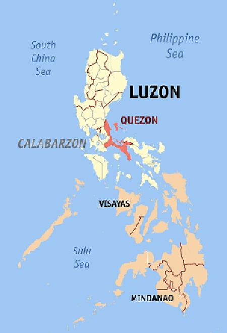 Map Quezon Province