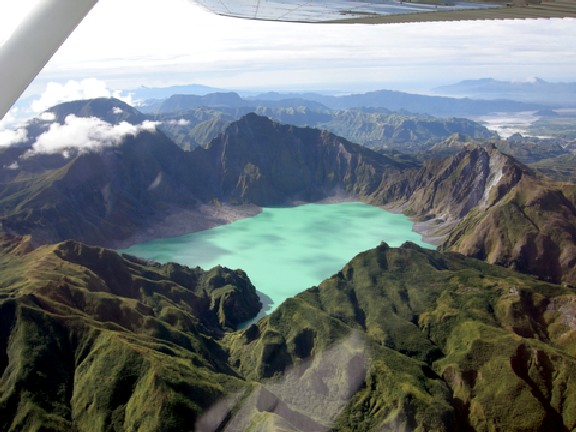 Zambales Pinatubo Volcano and lake