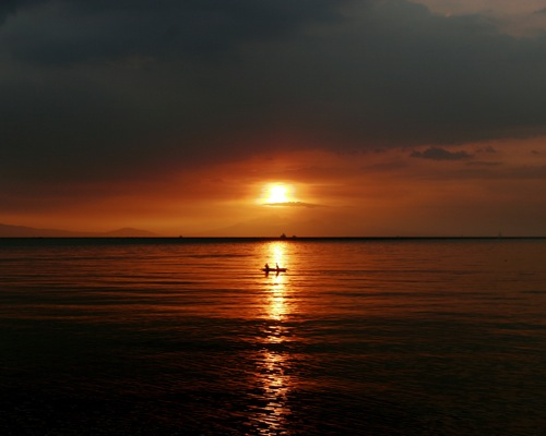 Sunset Manila Bay