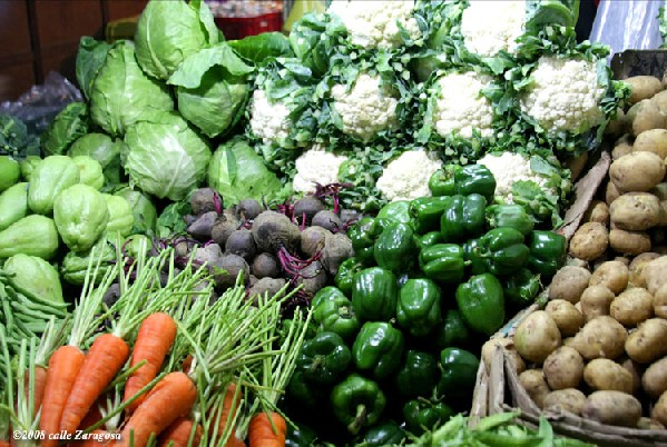 Benguet vegetables