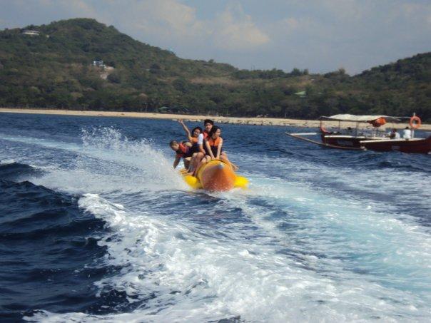 Banana Boat Ride Batangas
