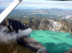 Pampanga Fly Over Pinatubo