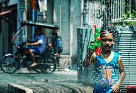 Regada water festival