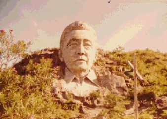 Philippine Dictator Marcos Bust in Benguet