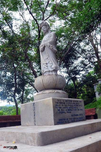 Bataan Maria Canon Statue