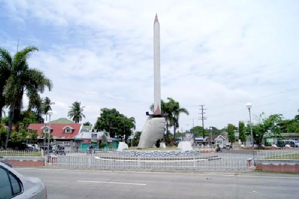 Bataan Pilar Flaming Sword
