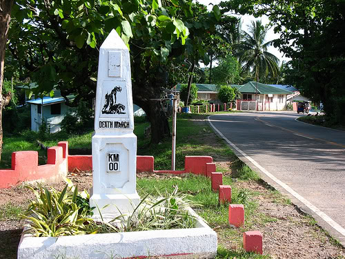 Bataan Zero Km. Death March Marker