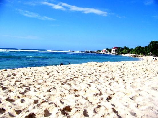 Pangasinan white sand beach