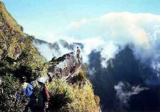 Mt. Banahaw Mountain Climbing Trekking the scenic Mt. Banahaw is a