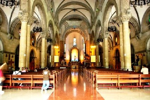 Manila cathedral chapel wedding