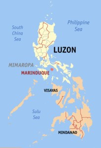 Marinduque Locator Map