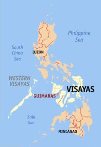 Guimaras Locator Map