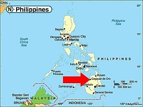 cagayan-de-oro-philippine-map